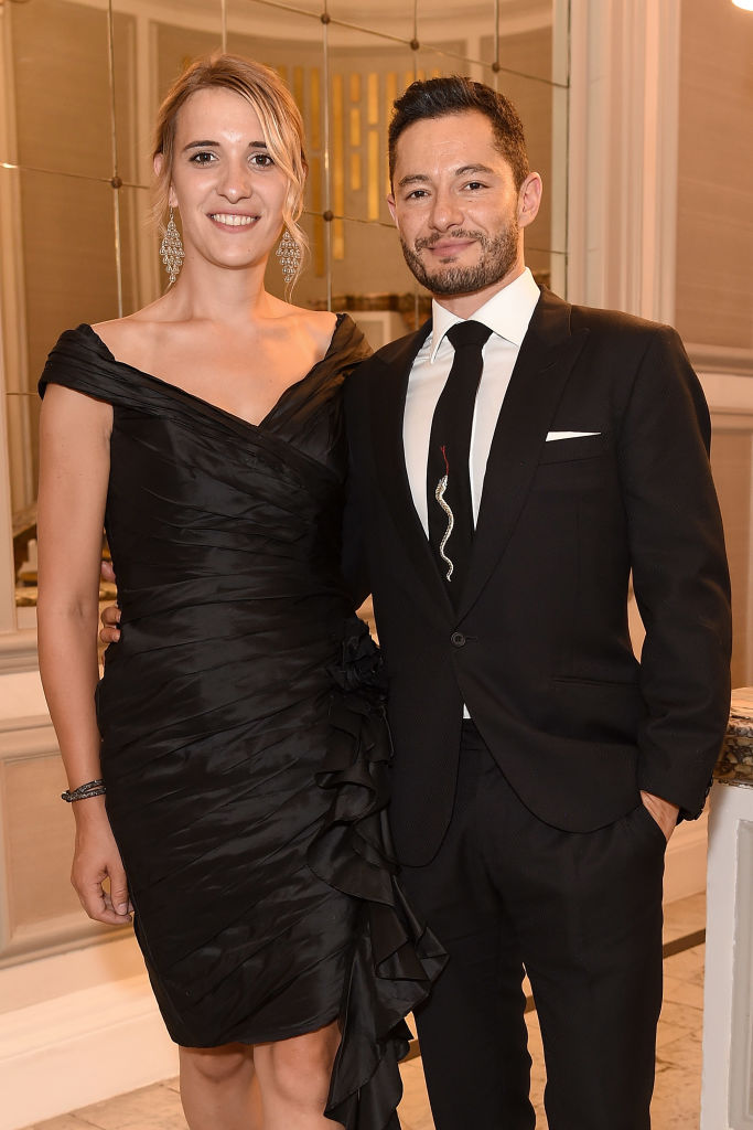 Hannah Winterbourne (L) and Jake Graf attend the Pride In London Gala Dinner 2018 at The Grand Connaught Rooms on July 5, 2018 in London, England. (Photo by Antony Jones/Getty Images)