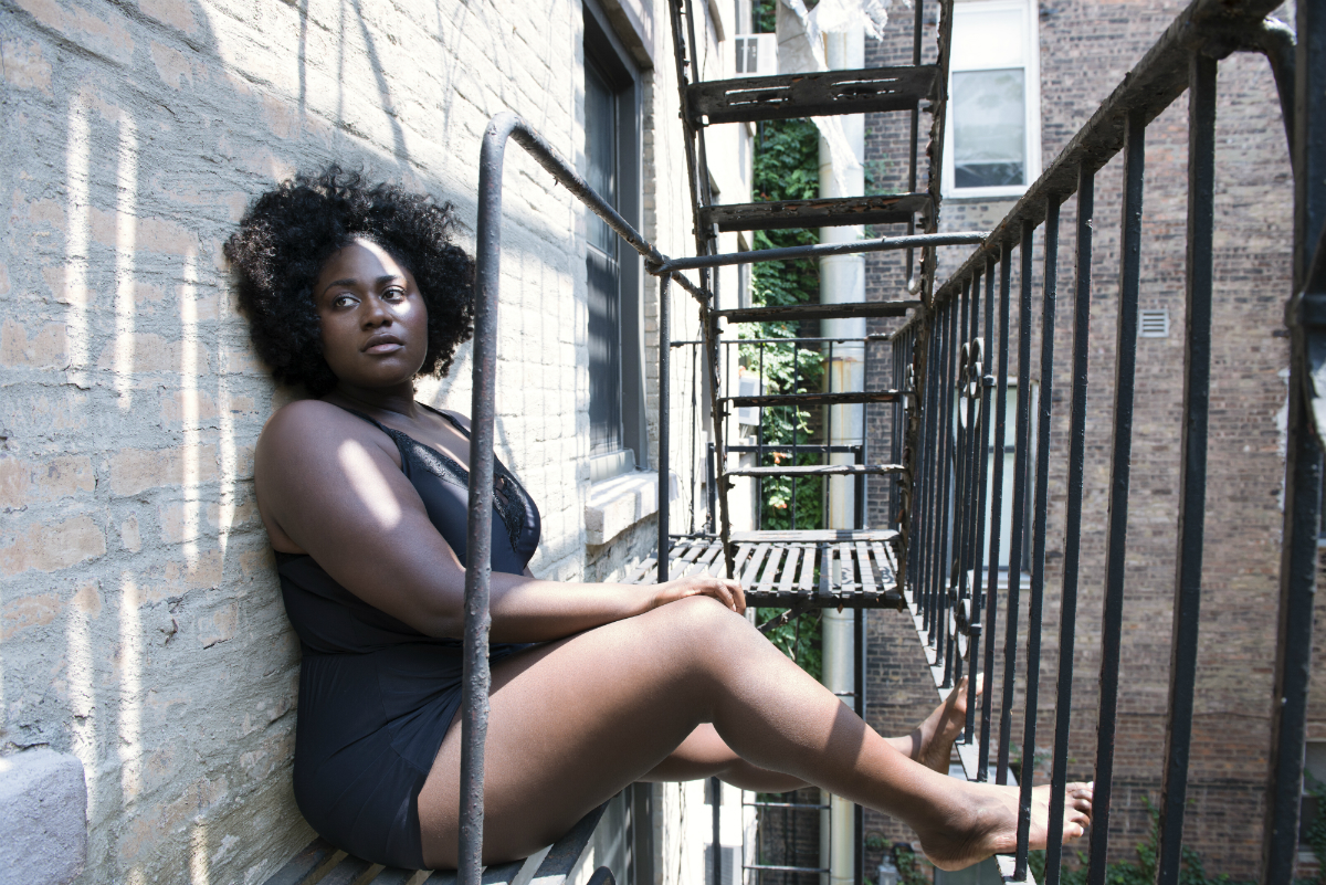 An exclusive photograph of Danielle Brooks from 'The Endings: Photographic Stories of Love, Loss, Heartbreak, and Beginning Again'