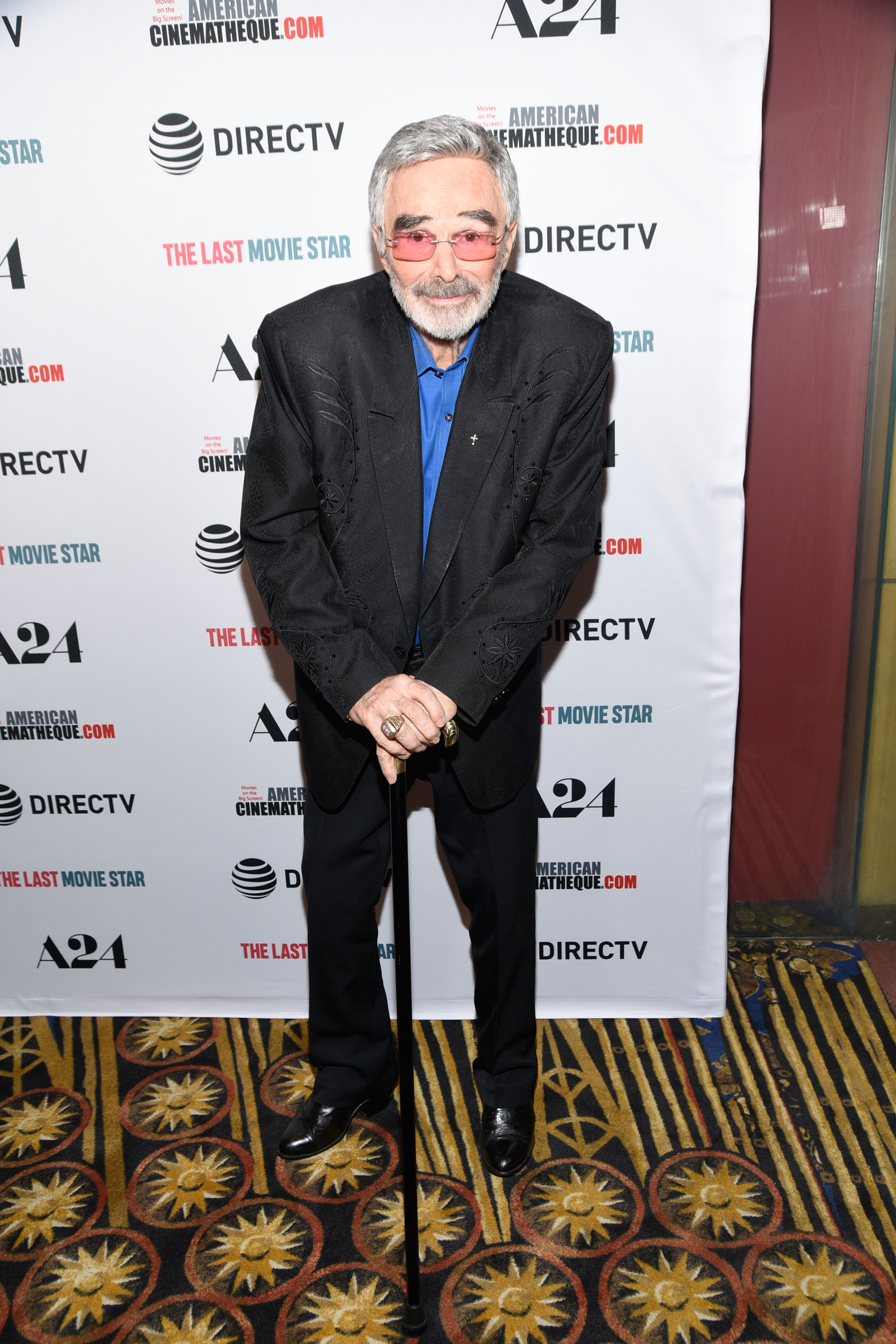 Actor Burt Reynolds attends the Los Angeles premiere of 'The Last Movie Star' at the Egyptian Theatre on March 22, 2018 in Hollywood, California.