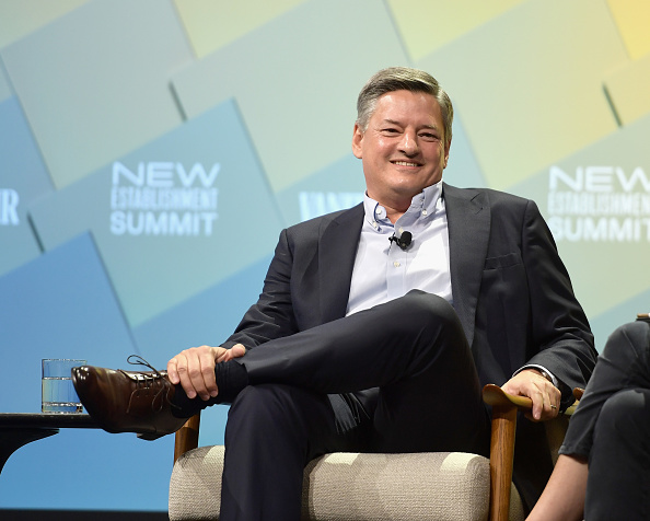 To Ted Sarandos, Netflix's chief objective is the fair distribution of content. (Getty Images)