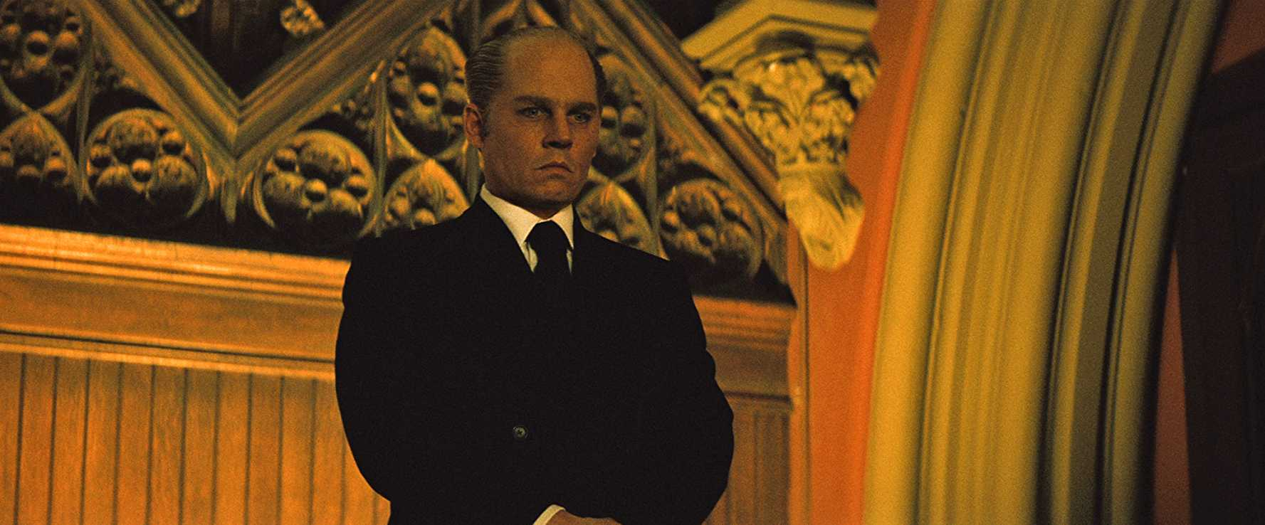 Johnny Depp as Whitey Bulger in 2015's Black Mass (Source: Black Mass/IMDb)