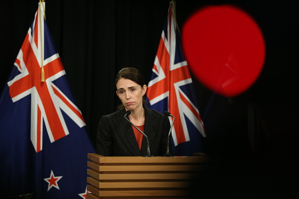 Prime Minister Jacinda Ardern speaks to media during a press conference at Parliament on March 15, 2019, in Wellington, New Zealand (Source: Getty Images)