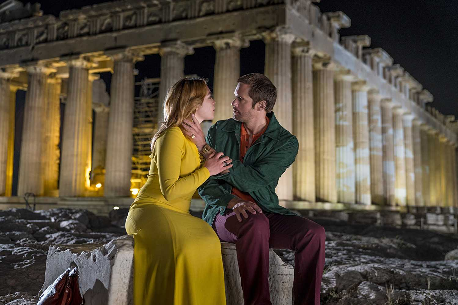 Becker took Charlie for a date to the Acropolis. (IMDb)