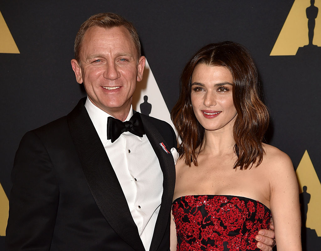 Actors Daniel Craig (L) and Rachel Weisz attend the Academy of Motion Picture Arts and Sciences' 7th annual Governors Awards at The Ray Dolby Ballroom at Hollywood & Highland Center on November 14, 2015 in Hollywood, California. (Photo by Kevin Winter/Getty Images)