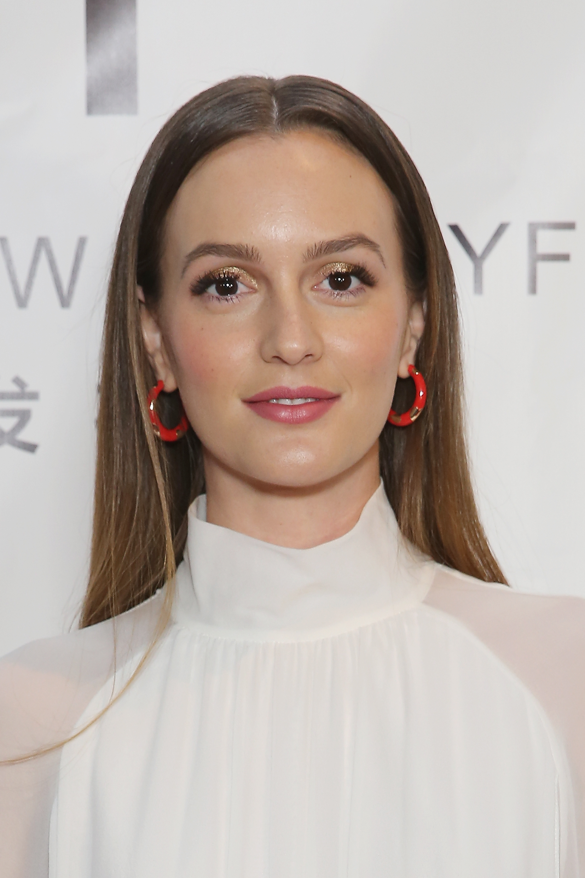 Actress, Leighton Meester, attends the Naersi fashion show during New York Fashion Week: The Shows at American Museum of Natural History on September 10, 2017 in New York City.
