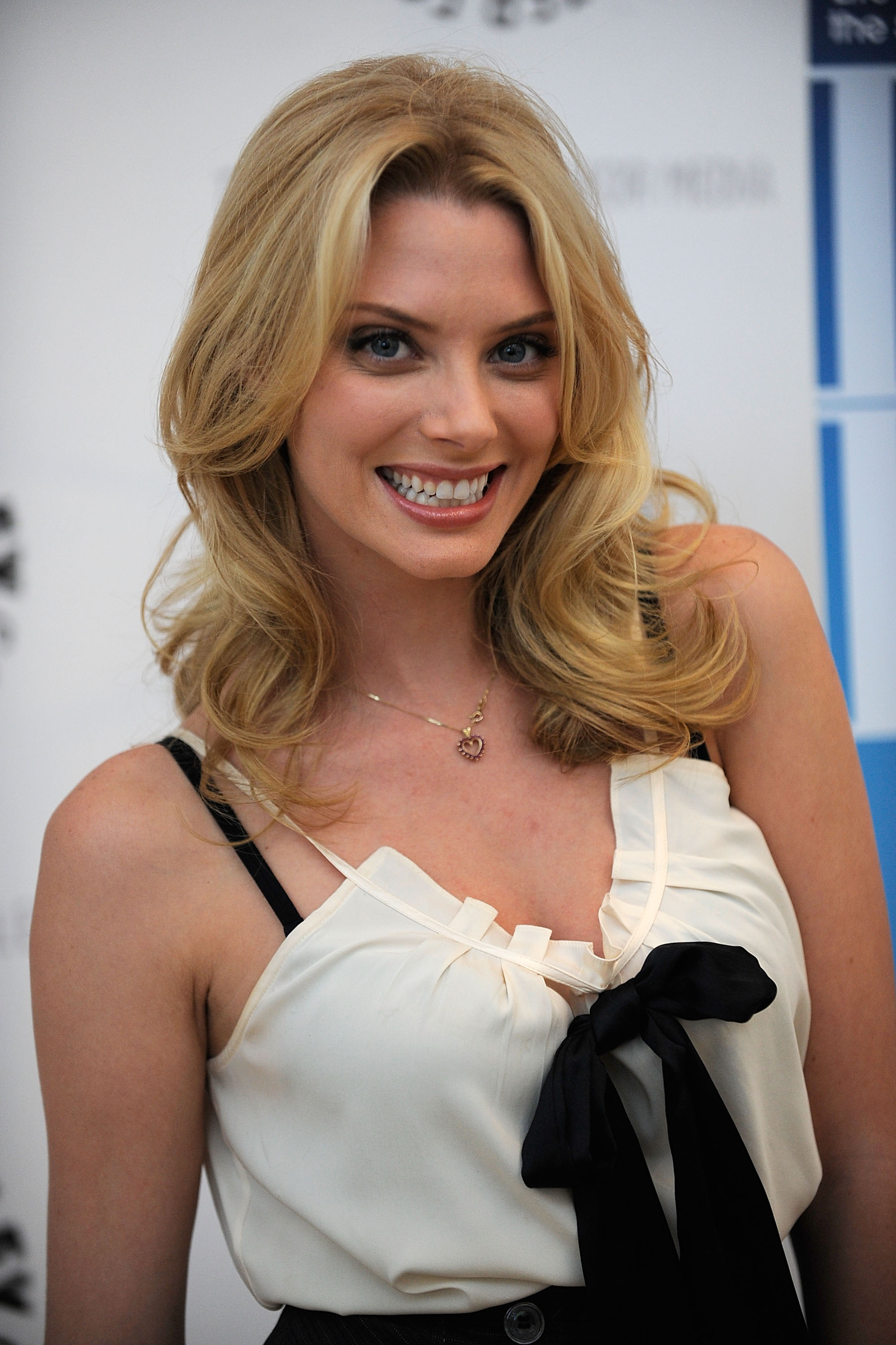 Actress April Bowlby arrives at the 'Drop Dead Diva': Season One Finale held at the Paley Center for Media on October 7, 2009, in Beverly Hills, California. (Photo by Alberto E. Rodriguez/Getty Images)