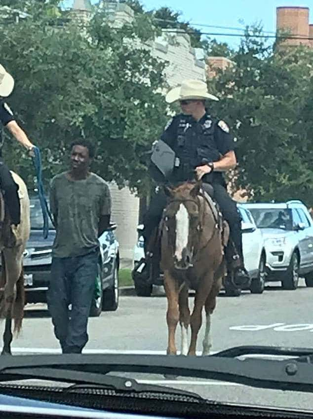 Galveston cops who led mentally-ill black man by rope while on horseback will not be criminally charged