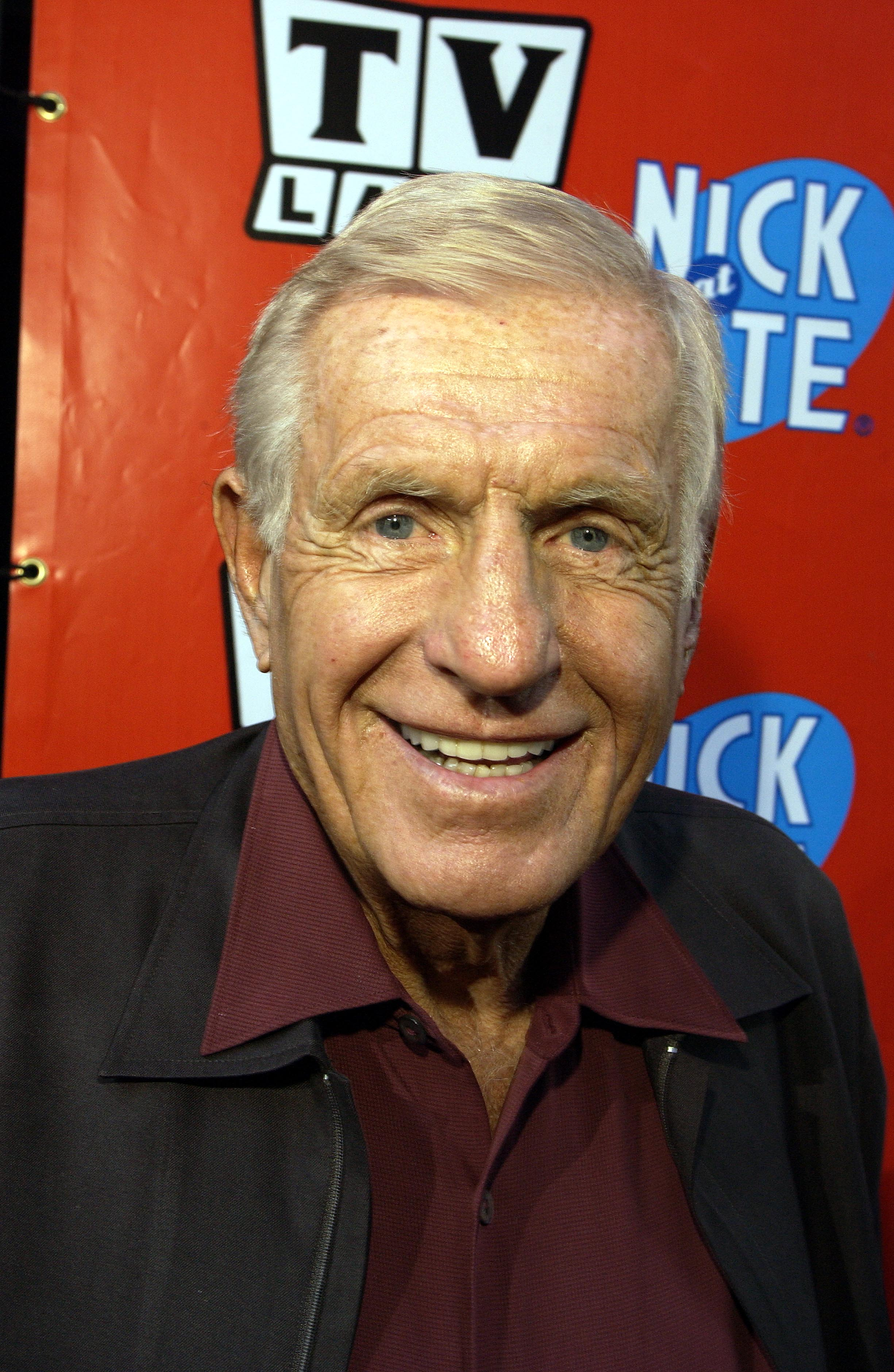 Jerry Van Dyke ,'Coach', at the TV Land and Nick at Nite Upfront in 'The Bat Cave' on Broadway in New York City on April 24, 2002. photo by Gabe Palacio/ImageDirect