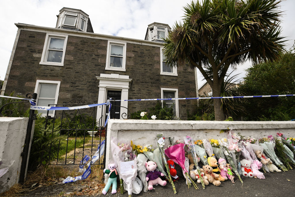 Police continue their investigations into the murder of Alesha MacPhail on July 6, 2018, in Rothesay, Isle of Bute, Scotland (Source: Jeff J Mitchell/Getty Images)