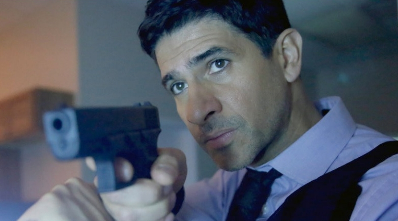 Raza Jaffrey as Daniel Zain in 'The Enemy Within'. (Source: NBC)