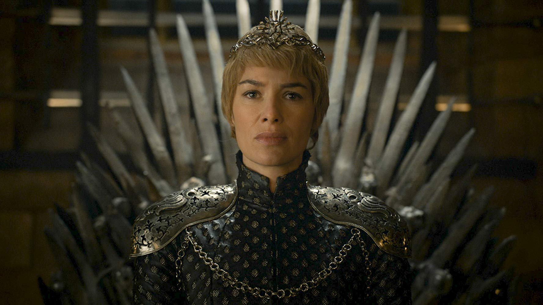Lena Headey as Cersei Lannister in Game of Thrones. Source: IMDB