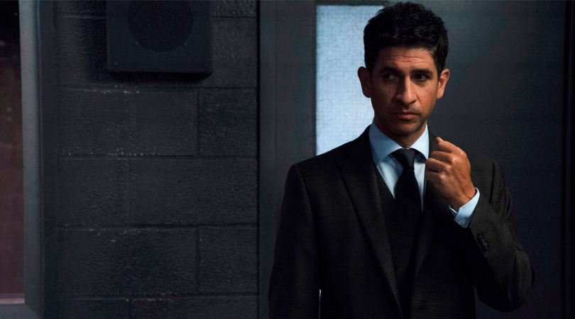 Raza Jaffrey as FBI agent Daniel Zain in 'The Enemy Within'. (Source: NBC)