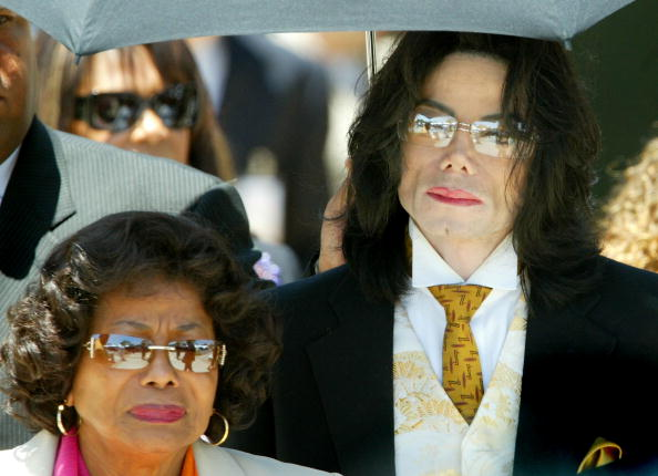 Katherine Jackson supported the fan's claim about the songs being fake. (Getty Images)
