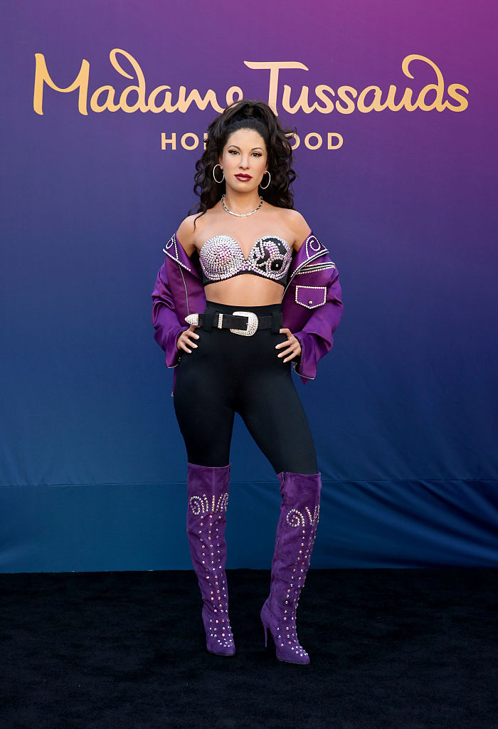 Selena Quintanilla immortalized in wax at Madame Tussauds (Getty Images)