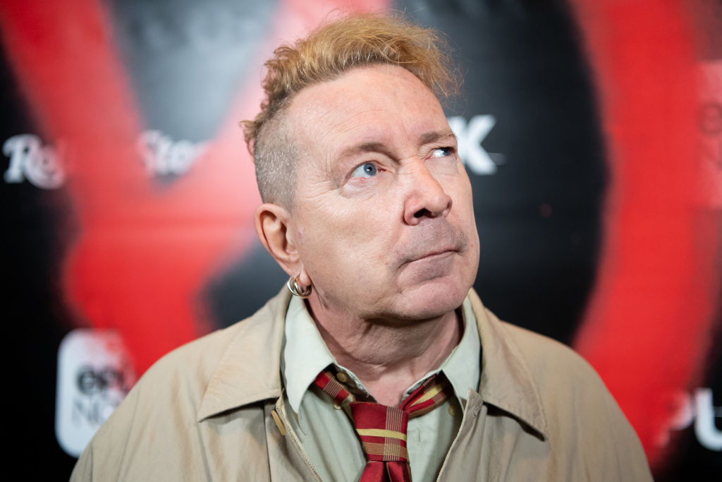 John Lydon aka Johnny Rotten arrives at the premiere of Epix's 'Punk' at SIR on March 04, 2019, in Los Angeles, California. (Source: Emma McIntyre/Getty Images)