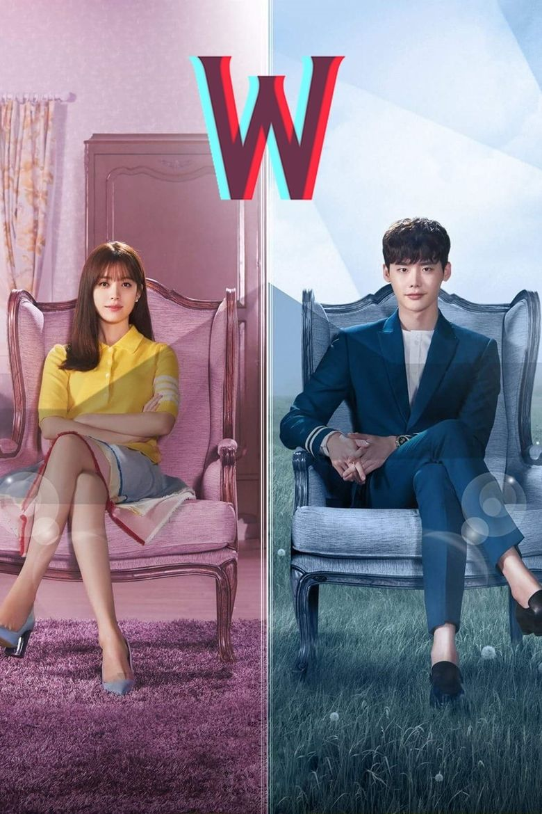 A poster of Lee Jong-suk's 'W'. (Source: MBC)