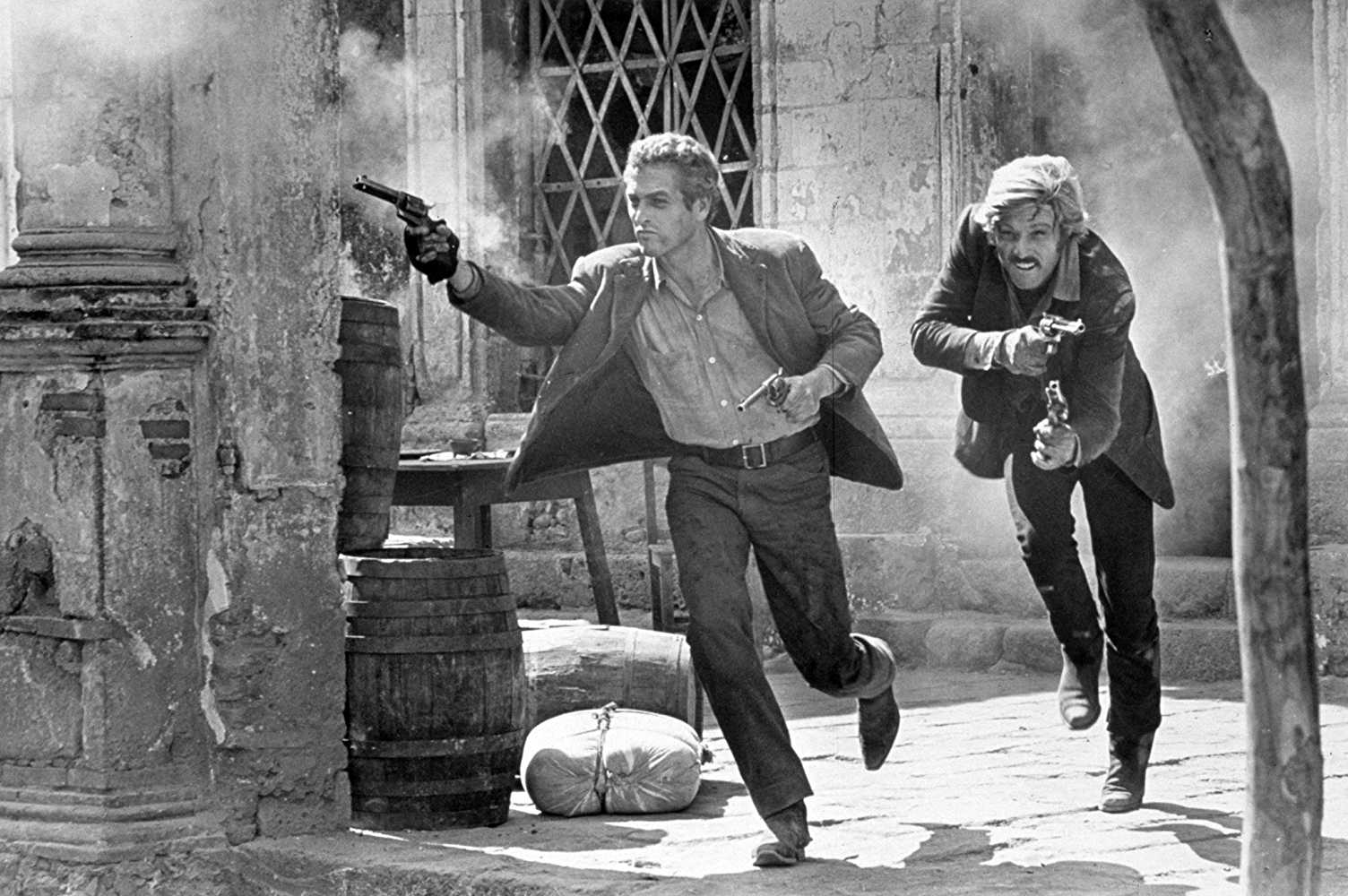 Paul Newman and Robert Redford in Butch Cassidy and the Sundance Kid (1969). (IMDb)