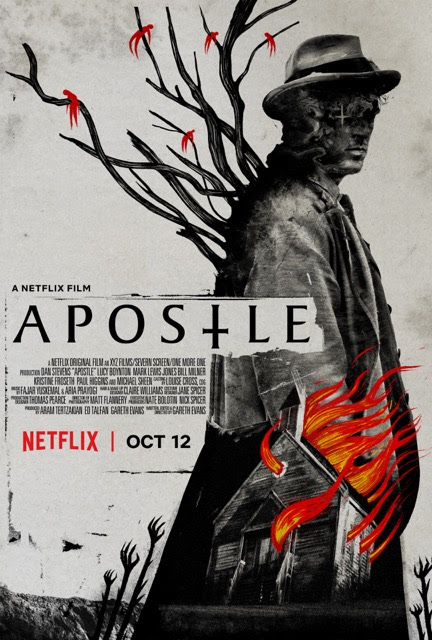 Apostle will debut globally on Netflix on October 12