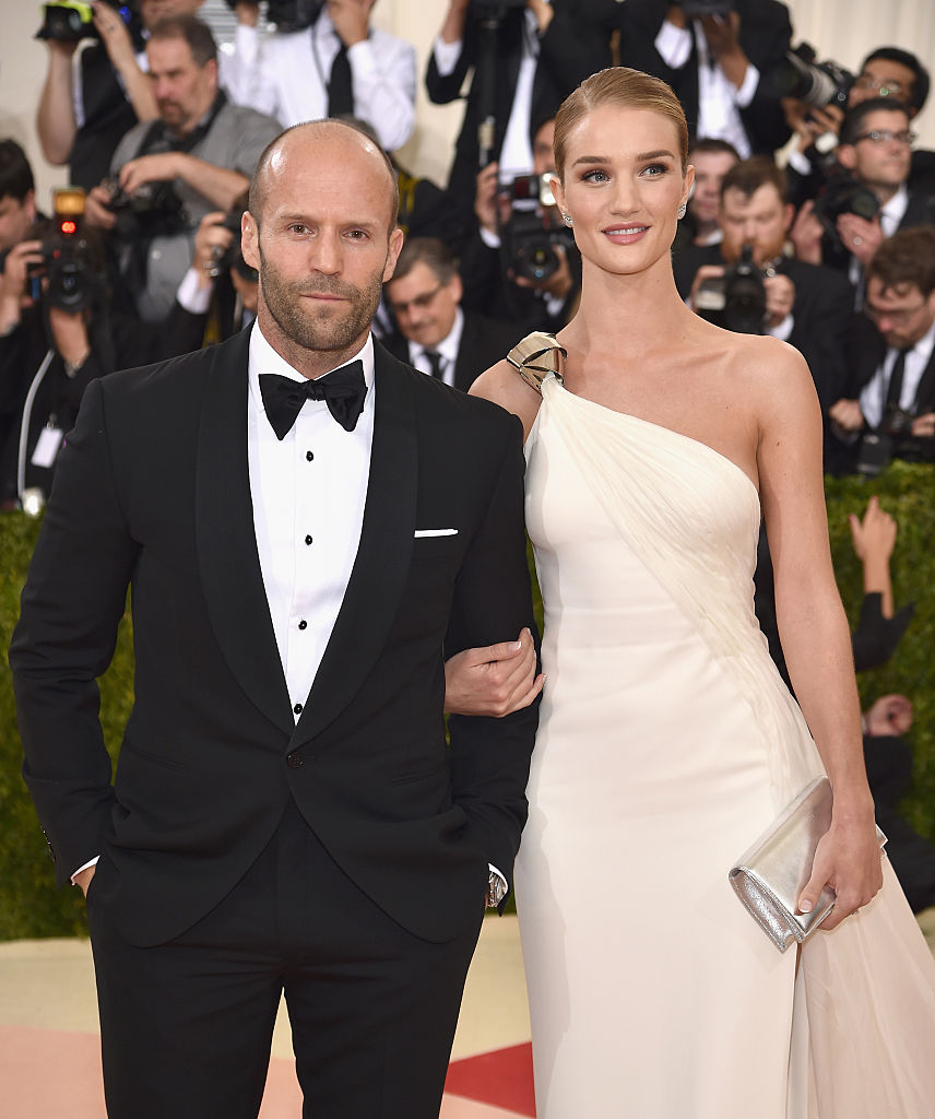 Rosie Huntington-Whiteley and Jason Statham (Source: Getty Images)