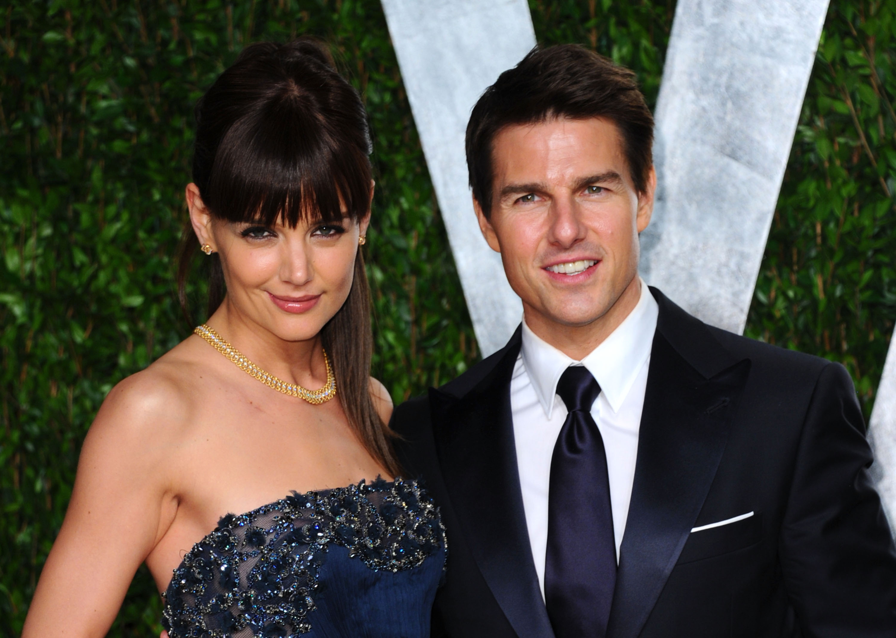Katie Holmes and Tom Cruise (Source: Getty Images)