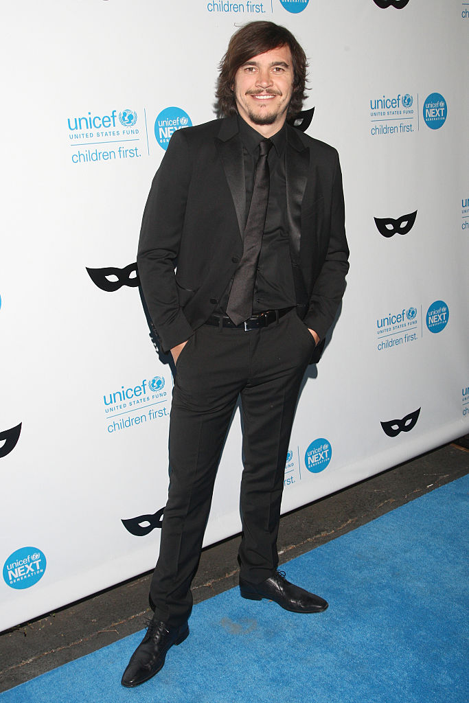 Del Puerto did not start acting until he was 14. (Getty Images)