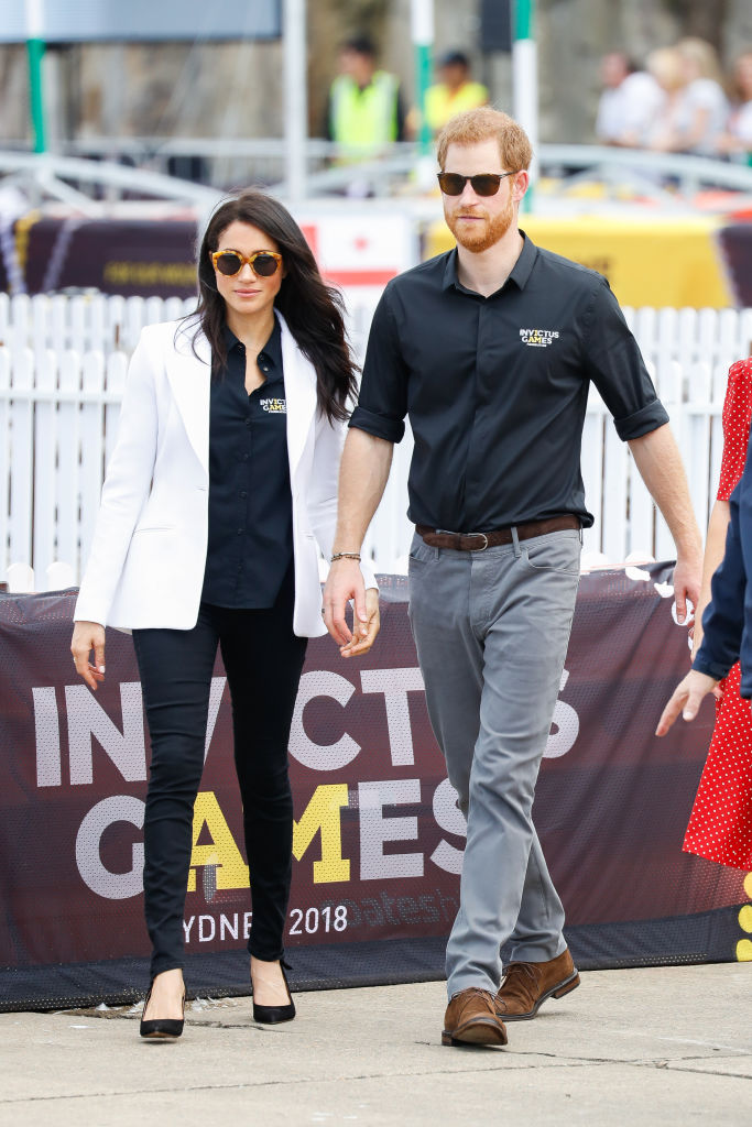 "The Duke and Duchess of Sussex's interim private secretary, Samantha ""The Panther"" Cohen, has wished to not make her job permanent. (Source: Getty Images)"