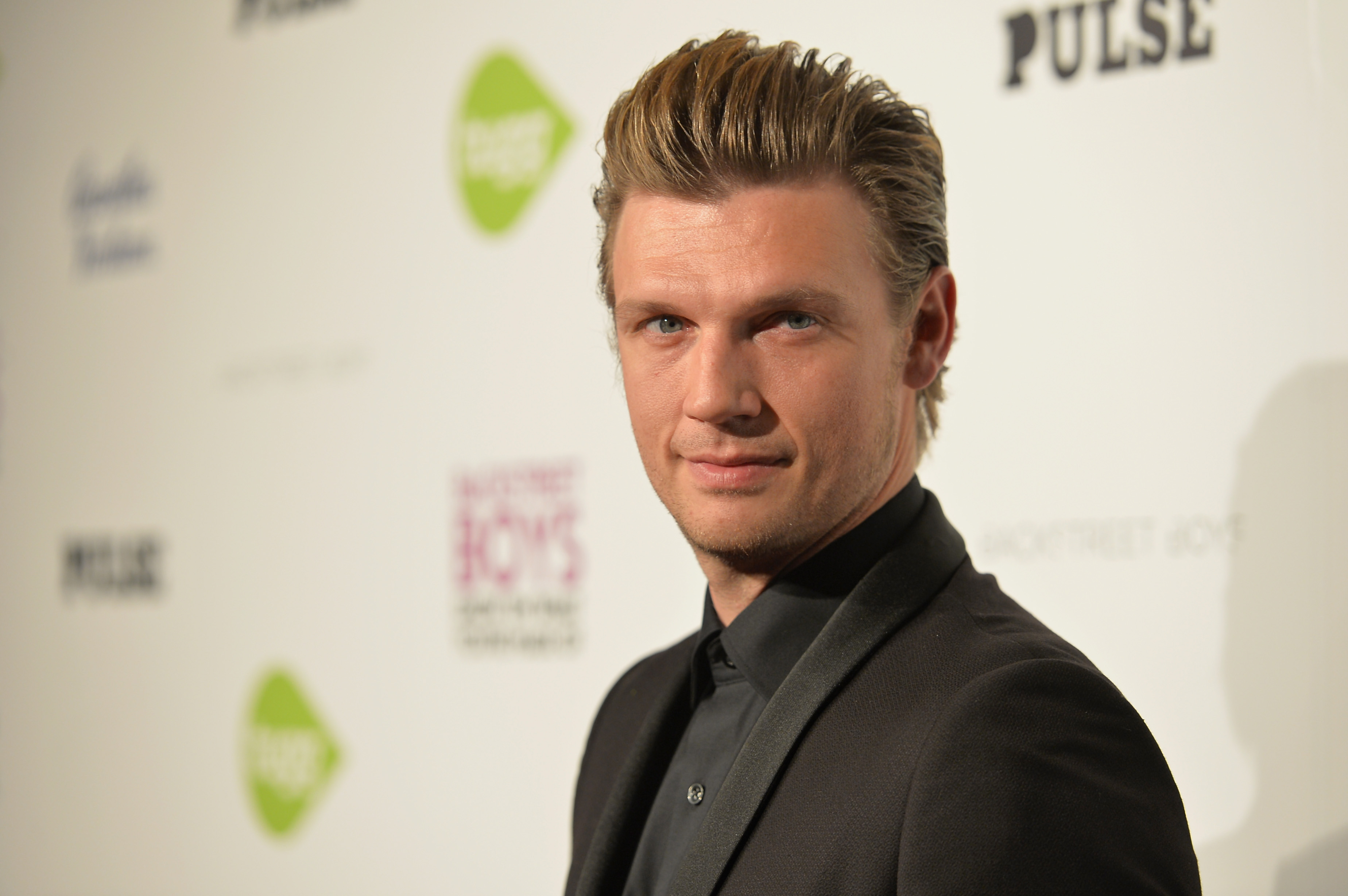 Singer Nick Carter attends the premiere of Gravitas Ventures' 'Backstreet Boys: Show 'Em What You're Made Of' at on January 29, 2015 in Hollywood, California.