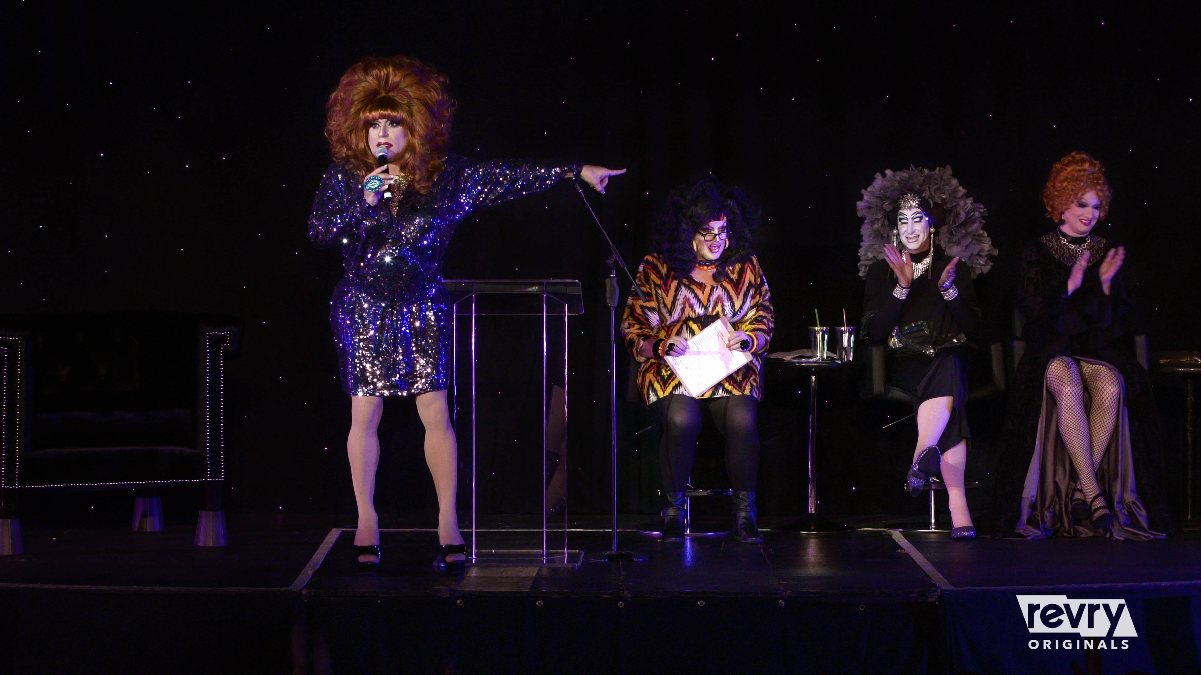 The Drag Roast of Heklina is out on Revry.tv Friday, February 1.