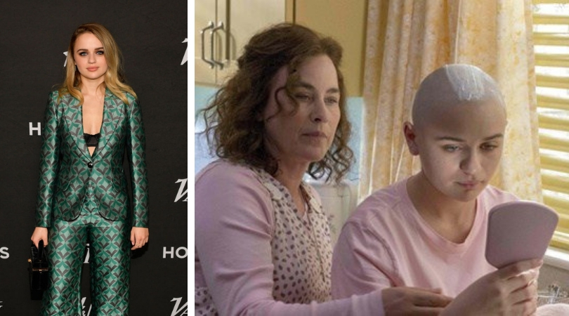 Left: Joey King at Variety's annual Power of Young Hollywood in California (Getty Images), Right: A still of Joey King and Patricia Arquette from their upcoming show, 'The Act' (Source: Twitter)