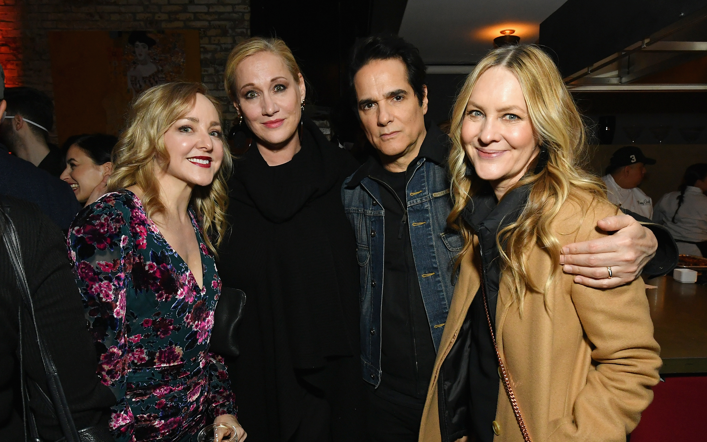 Geneva Carr and Yul Vazquez attend the 'I Am the Night' Premiere Party at 214 Lafayette on January 22, 2019 in New York City (Getty Images)
