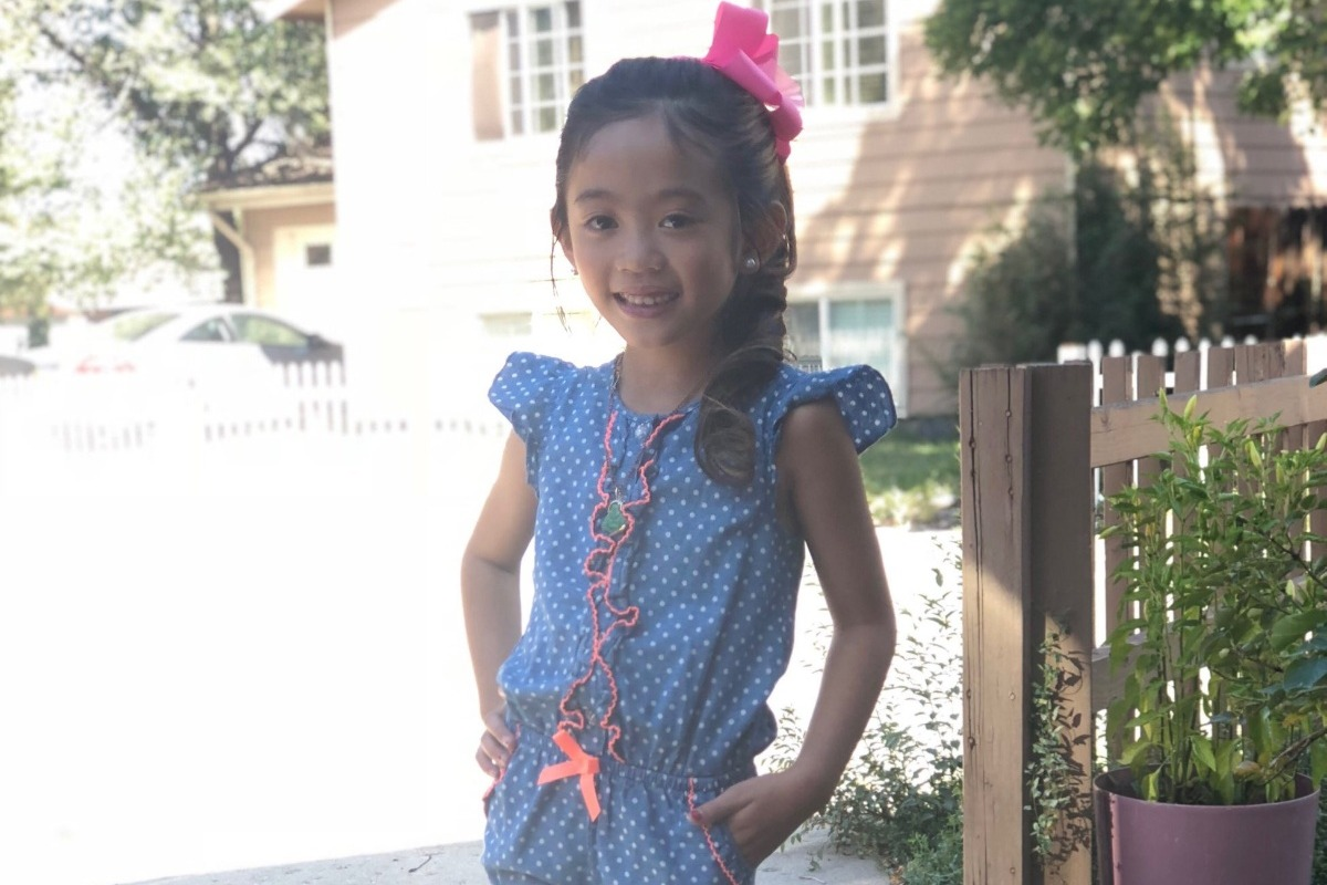 Selina, 7, died she was afflicted with the H1N1 virus (Source: GoFundMe)