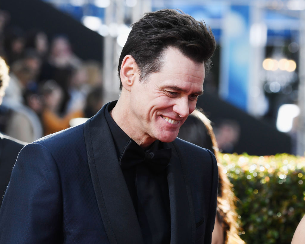 Jim Carrey attends the 76th Annual Golden Globe Awards at The Beverly Hilton Hotel on January 6, 2019 in Beverly Hills, California. (Photo by Frazer Harrison/Getty Images)