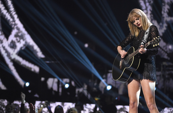 Swift's album sales make up for almost 34.6% of the label's market share. (Getty Images)