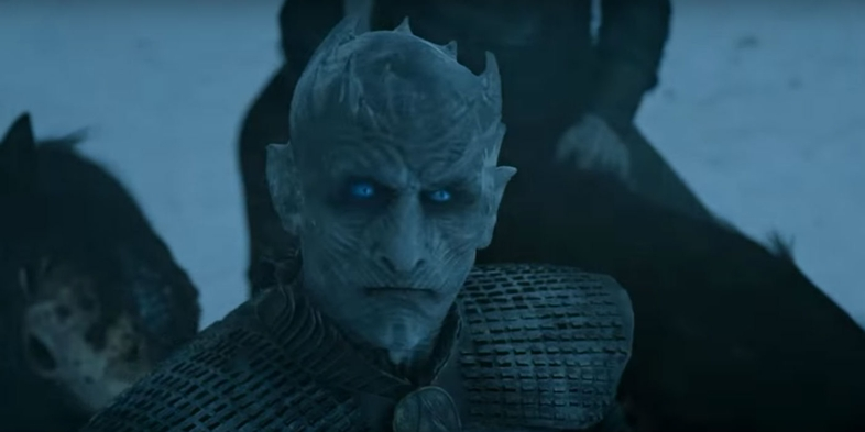 Vladimir 'Furdo' Furdik as the Night King in 'Game of Thrones'. (Source: IMDB)