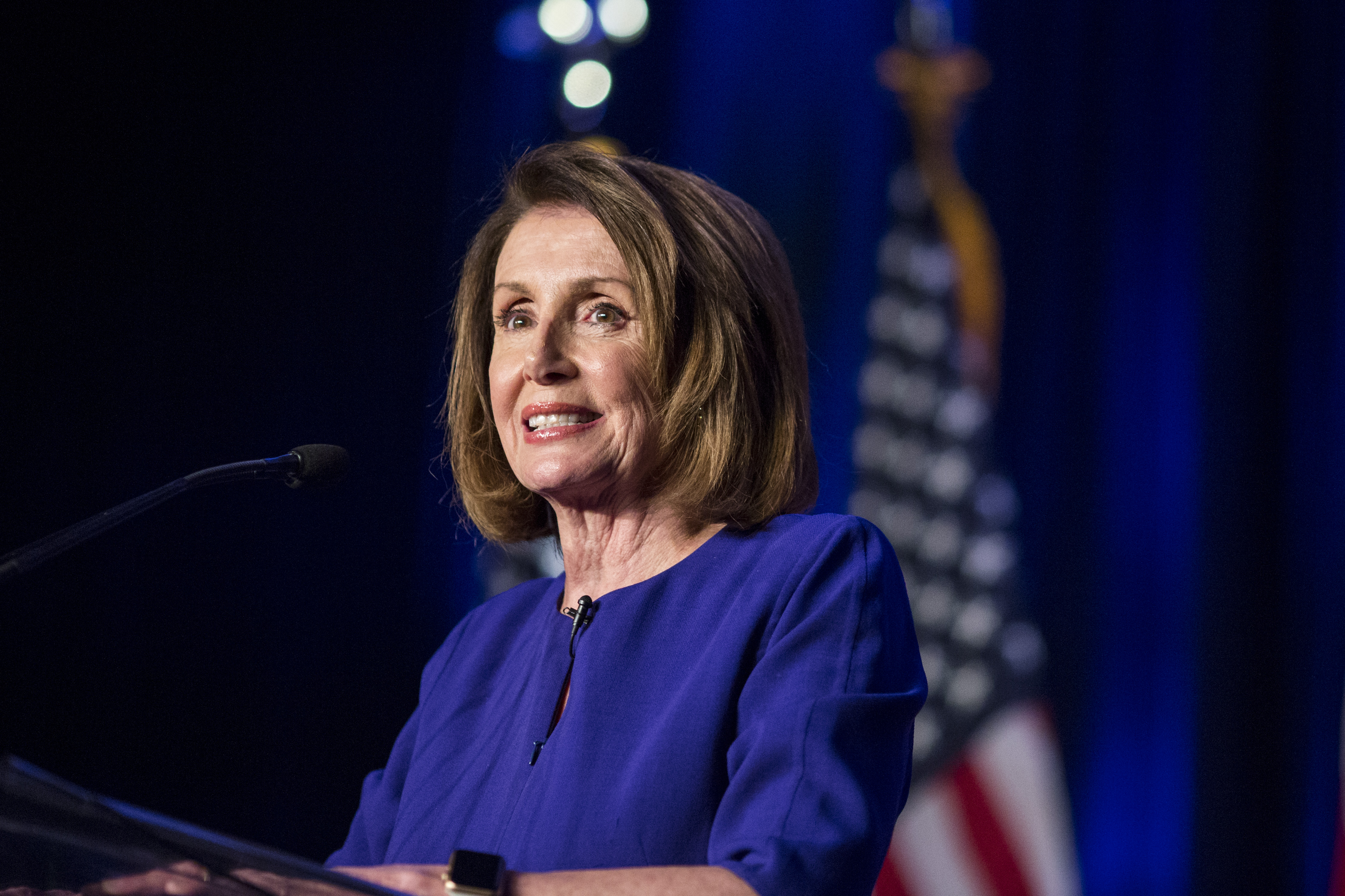 House Minority leader Nancy Pelosi also believes there will be significant action taken (Source: Zach Gibson/Getty Images)