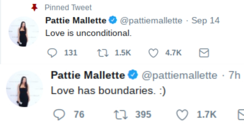 Mallette's tweets confuse us even further (Twitter)