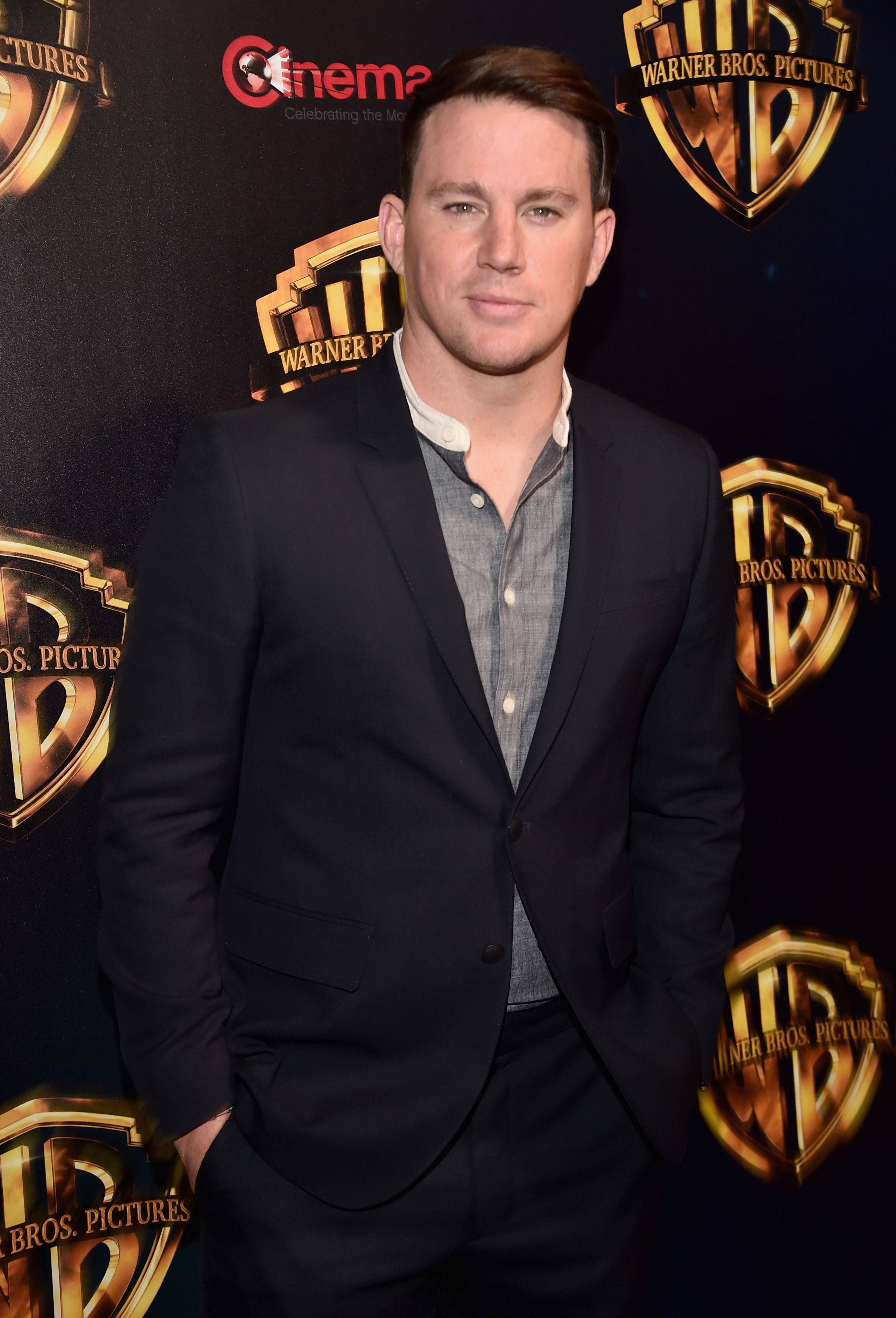 Actor Channing Tatum attends CinemaCon 2018 Warner Bros. Pictures Invites You to 'The Big Picture,' an Exclusive Presentation of our Upcoming Slate at The Colosseum at Caesars Palace during CinemaCon, the official convention of the National Association of Theatre Owners, on April 24, 2018 in Las Vegas, Nevada.