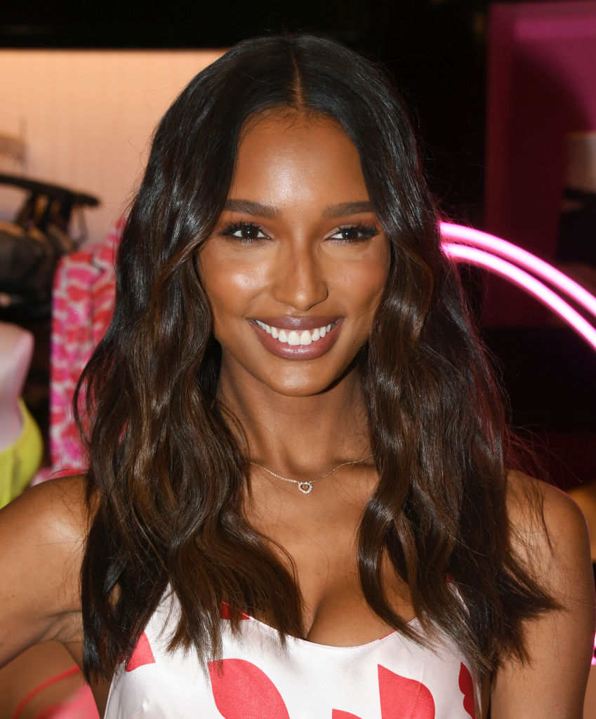 Jasmine Tookes attends Victoria's Secret Angels Jasmine Tookes And Romee Strijd Celebrate Valentines Day at Victoria's Secret Beverly Center on February 07, 2019 in Los Angeles, California. (Photo by Jon Kopaloff/Getty Images)