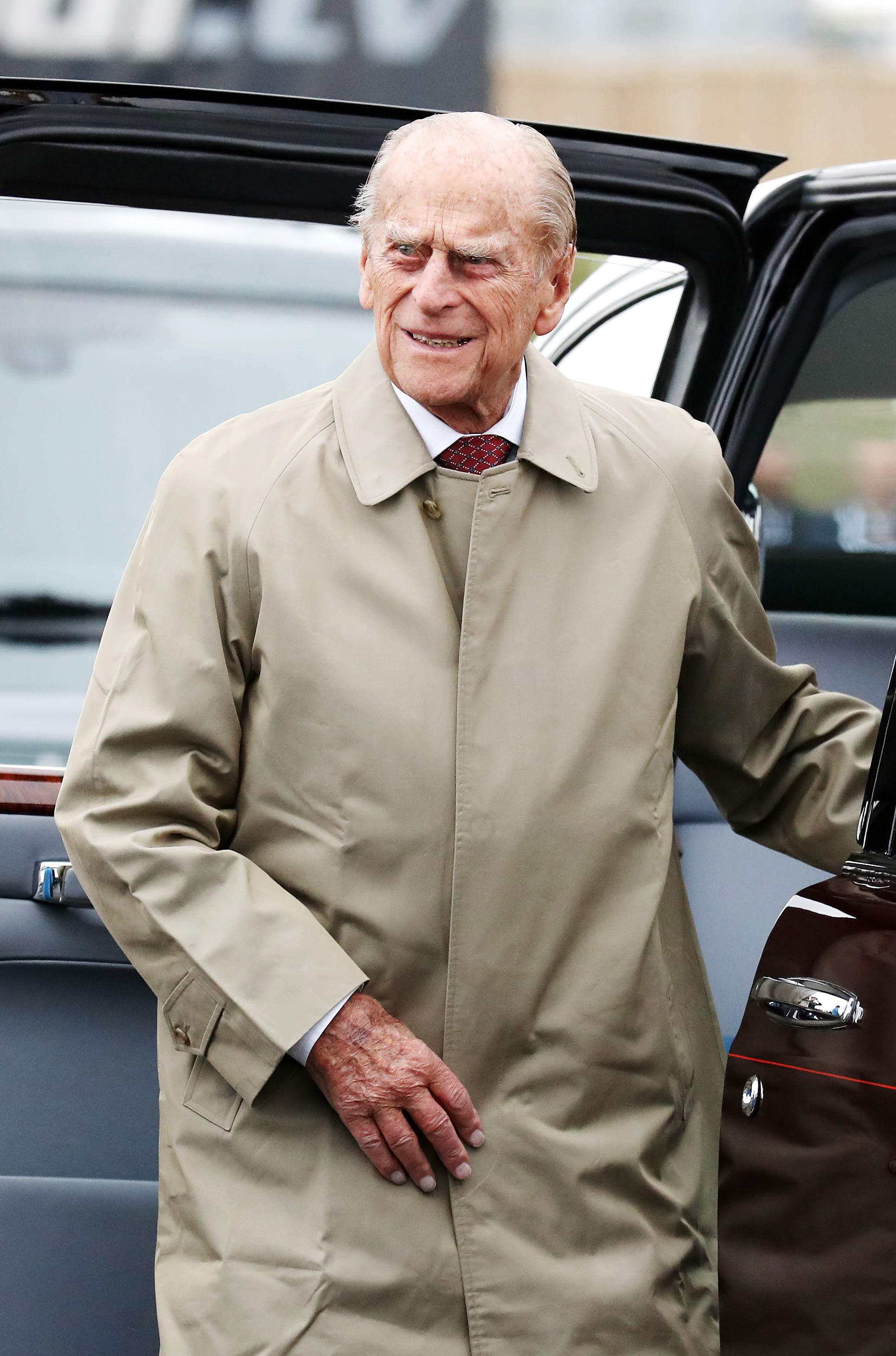 Prince Philip, Duke of Edinburgh, attends the official opening ceremony of the Queensferry Crossing, on September 4, 2017, in South Queensferry, Scotland. (Getty Images)