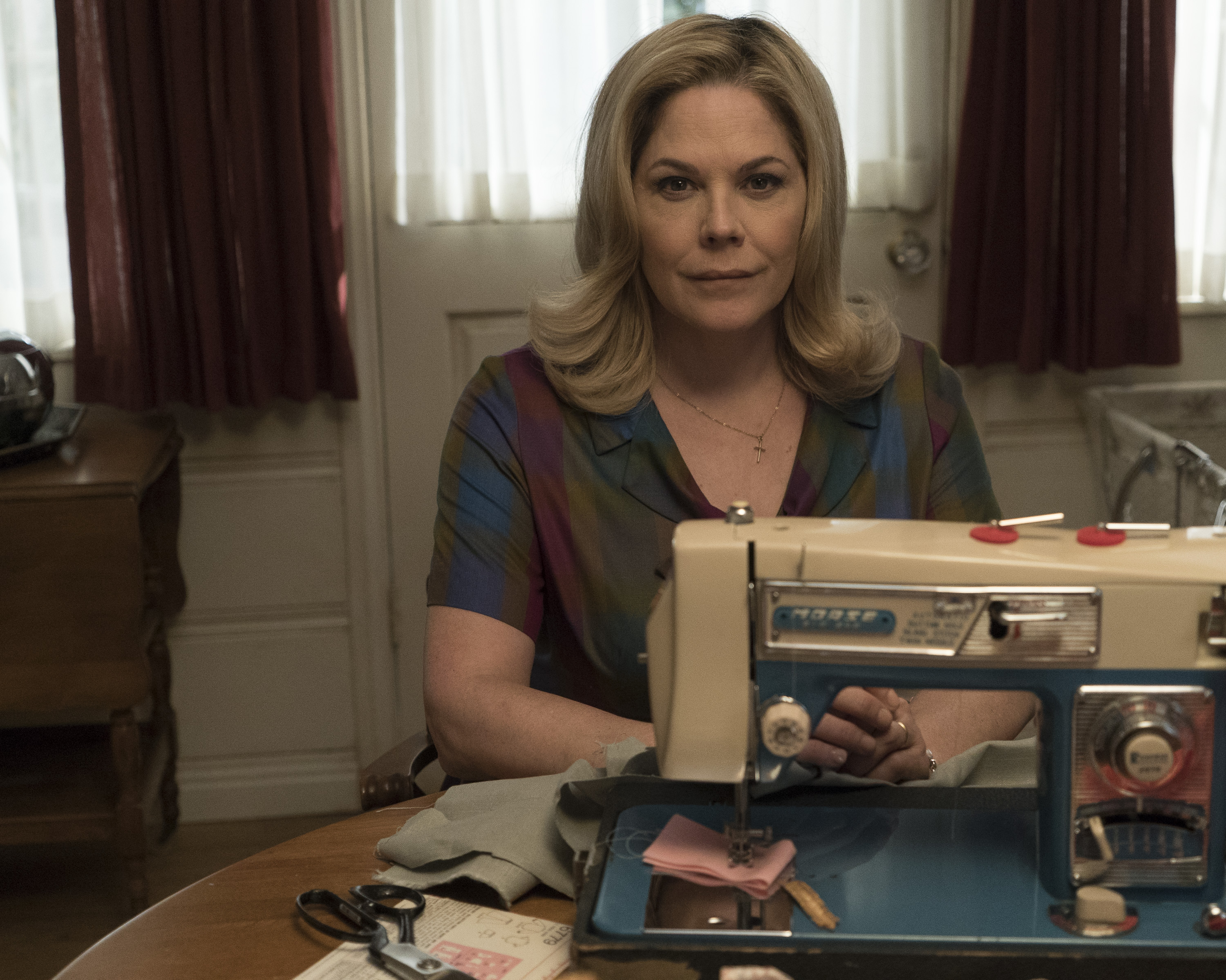 Mary McCormack plays the role of Peggy Cleary, the matriarch in 'The Kids Are Alright.' (ABC/Richard Cartwright)