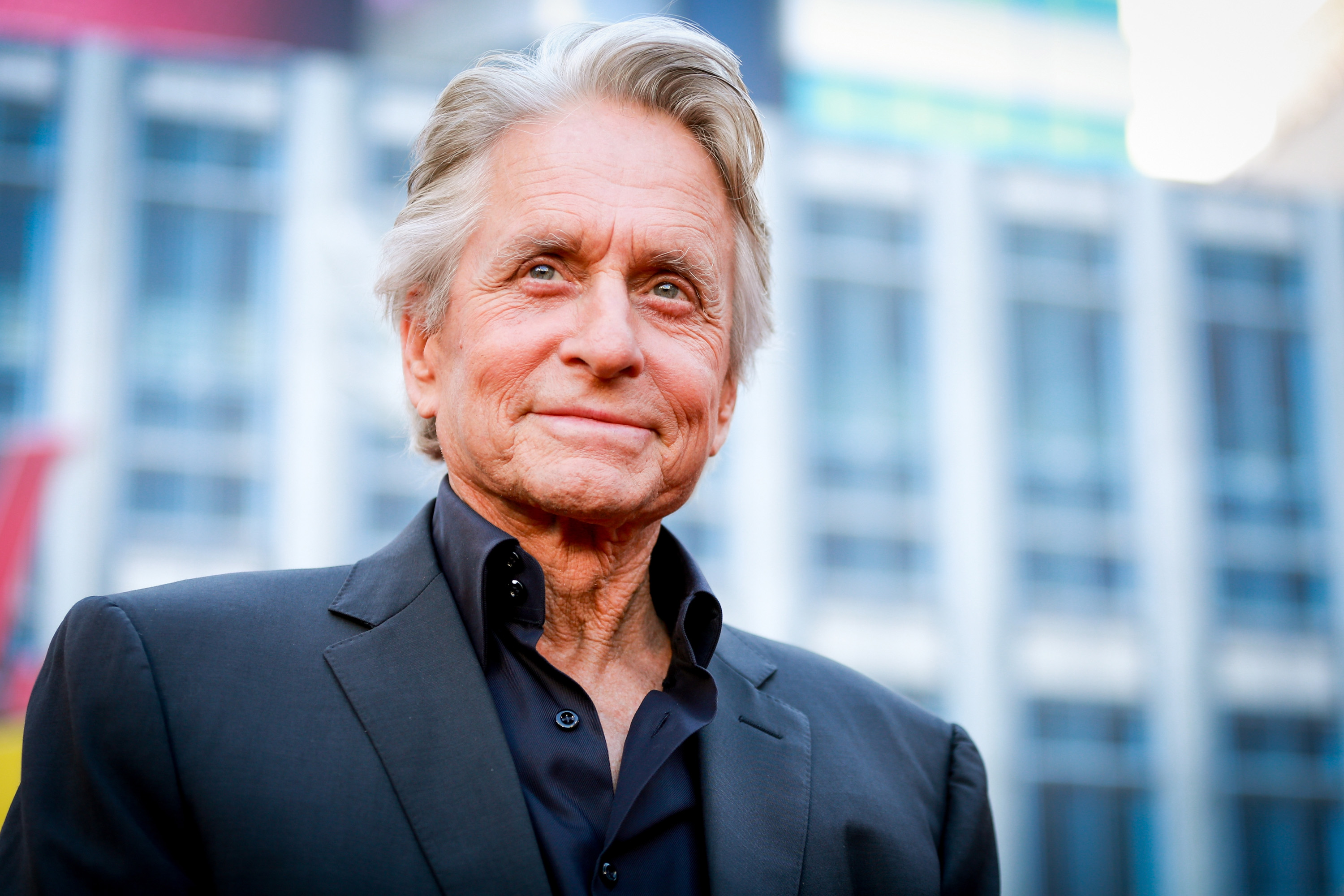 Michael Douglas attends the premiere of Disney And Marvel's 'Ant-Man And The Wasp' on June 25, 2018 in Hollywood, California.