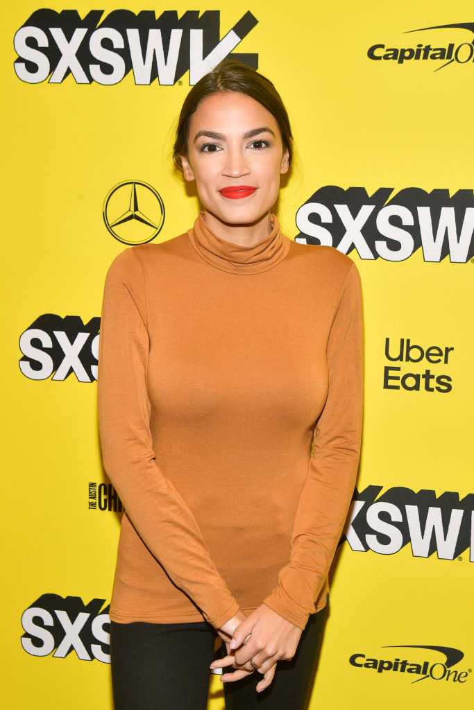 Alexandria Ocasio-Cortez attends the 'Knock Down The House' Premiere 2019 SXSW Conference and Festivals at Paramount Theatre on March 10, 2019, in Austin, Texas (Source: Matt Winkelmeyer/Getty Images for SXSW)