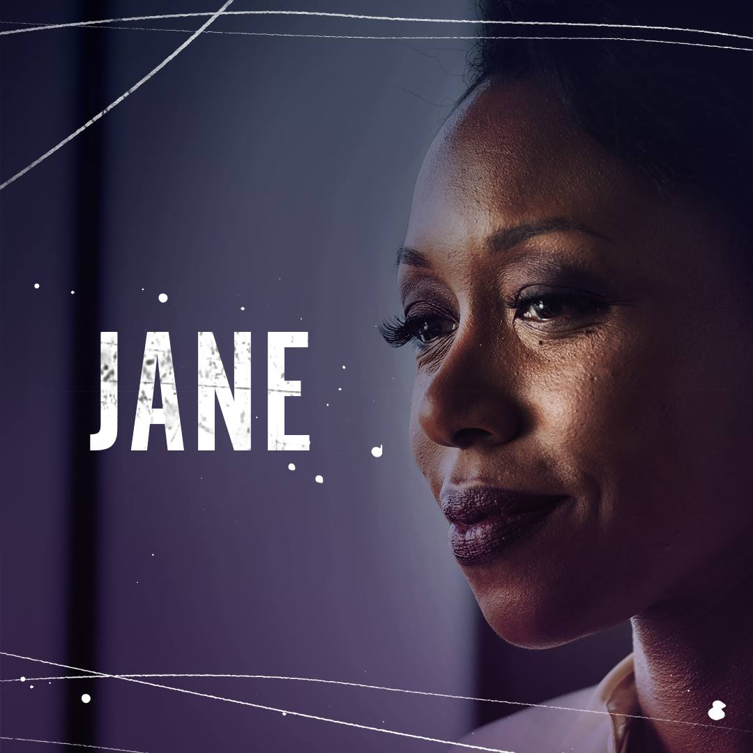 Amanda Warren plays Jane Barbour on 'The Purge' tv series