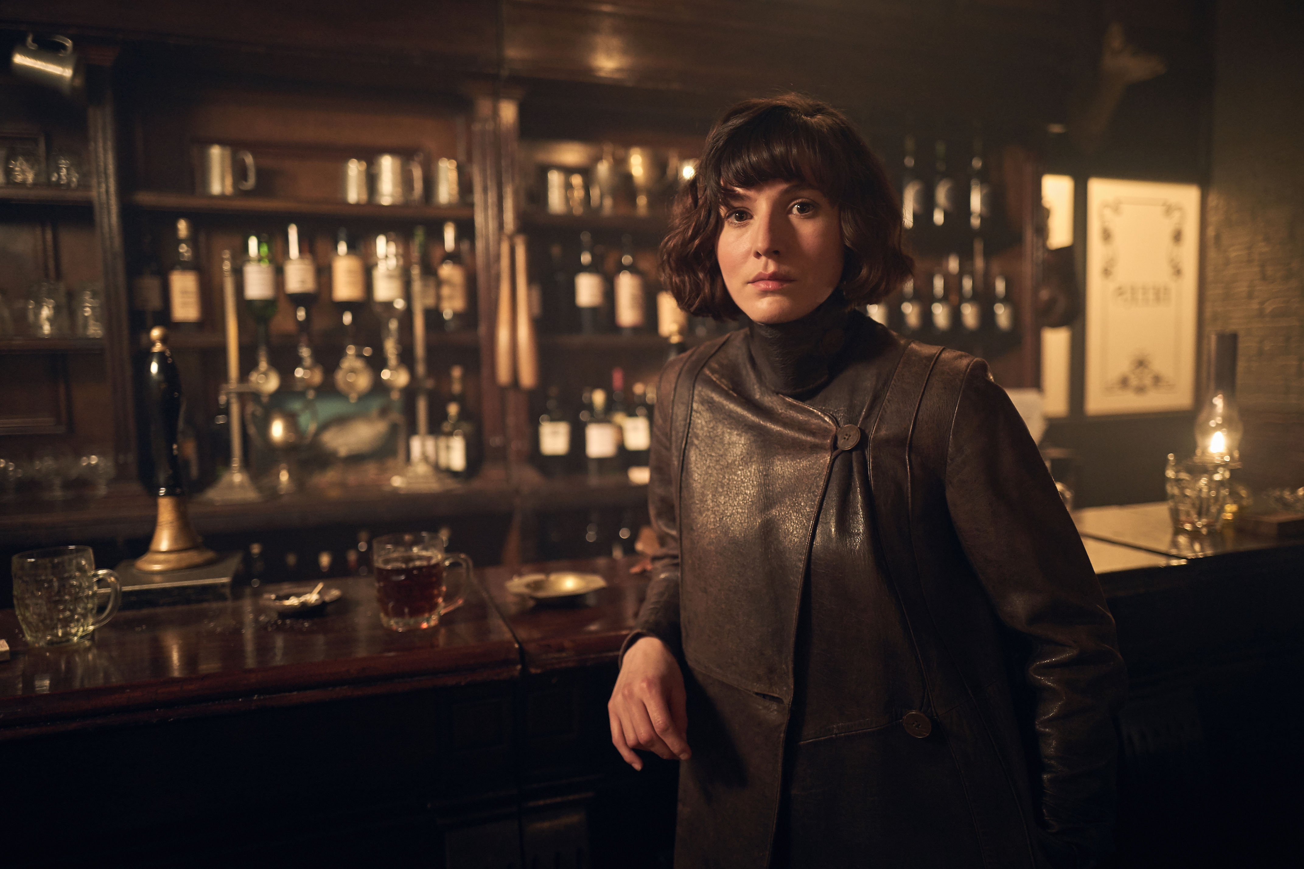 Jessie Eden appears for the first time in Season 4 of 'Peaky Blinders'. (Source: Netflix)