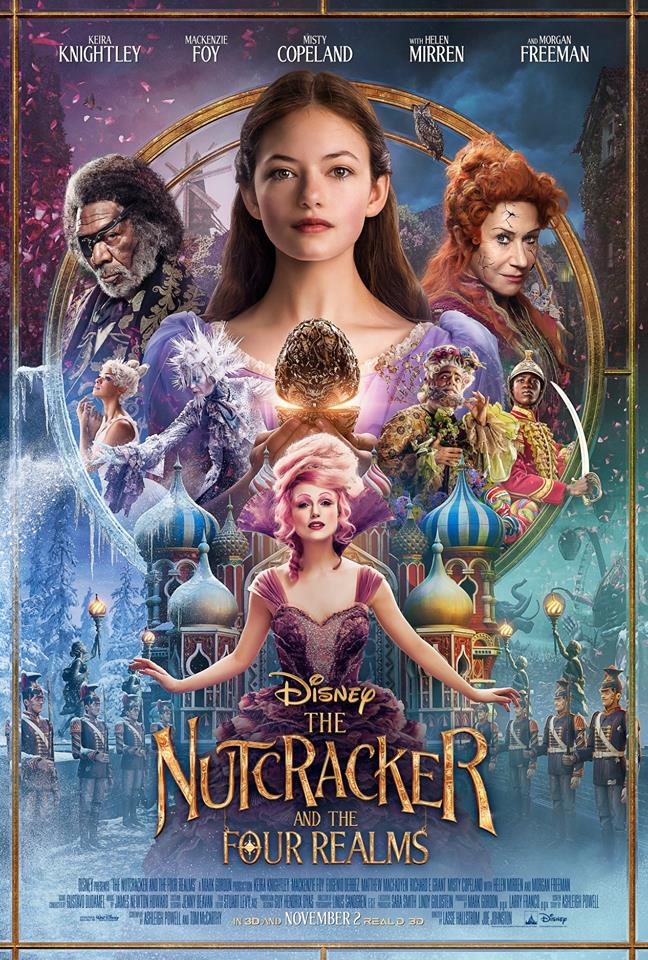 The Nutcracker and the Four Realms' opens in US theaters on November 2