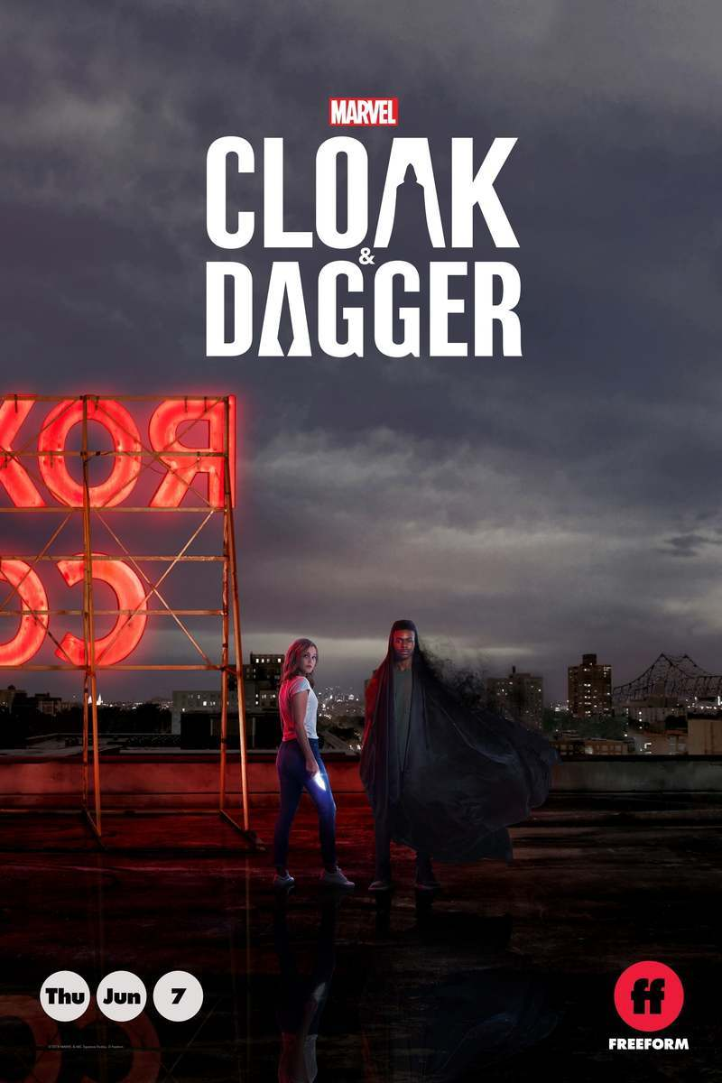 A poster of Cloak and Dagger season 1. (Source: Freeform)