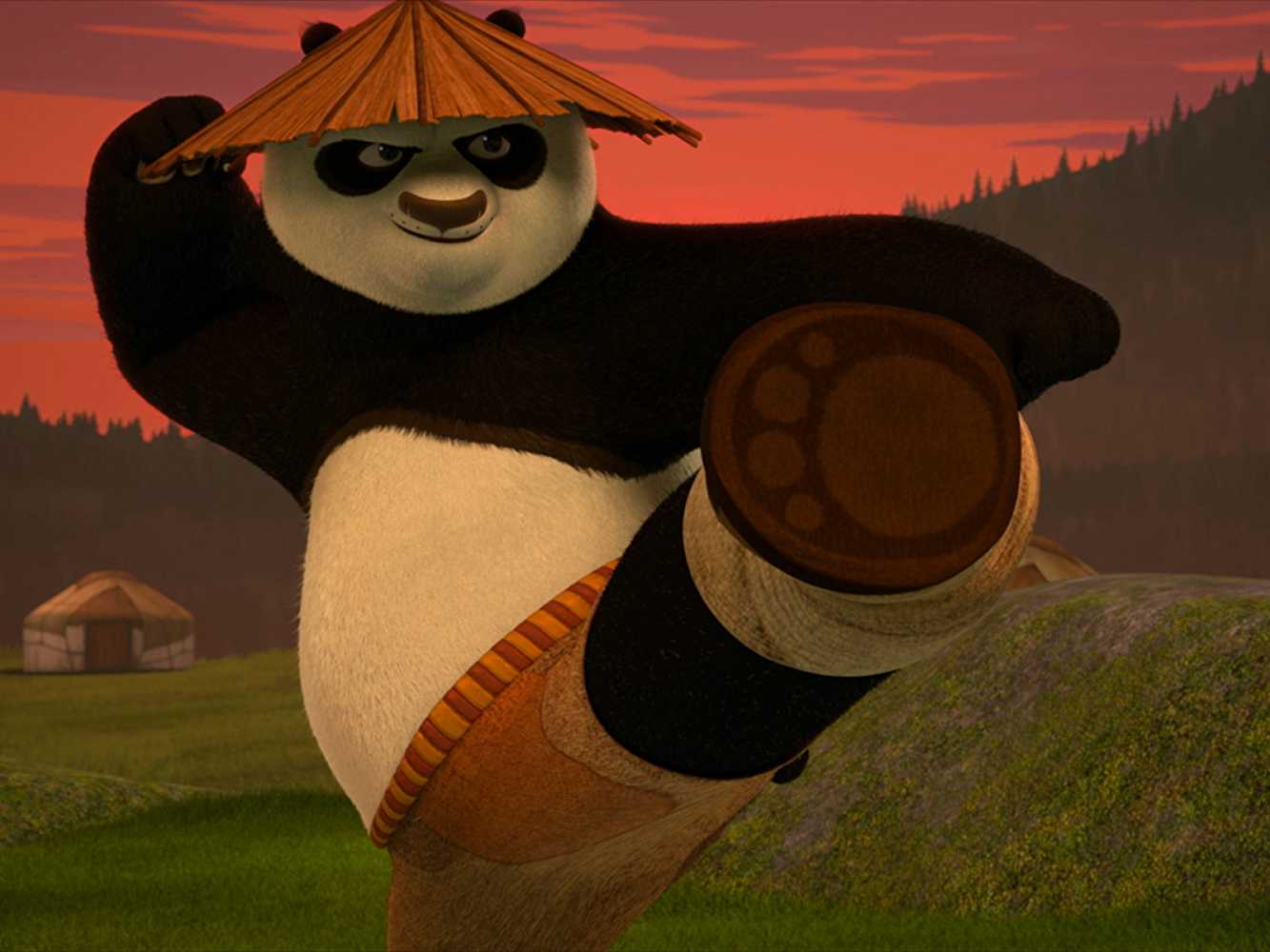 The music is what defines Po's journey from being a student to a master. (IMDb)