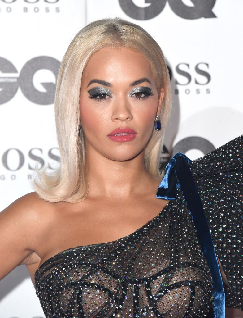 Rita Ora attends the GQ Men of the Year awards at the Tate Modern on September 5, 2018 in London, England. (Photo by Stuart C. Wilson/Getty Images)