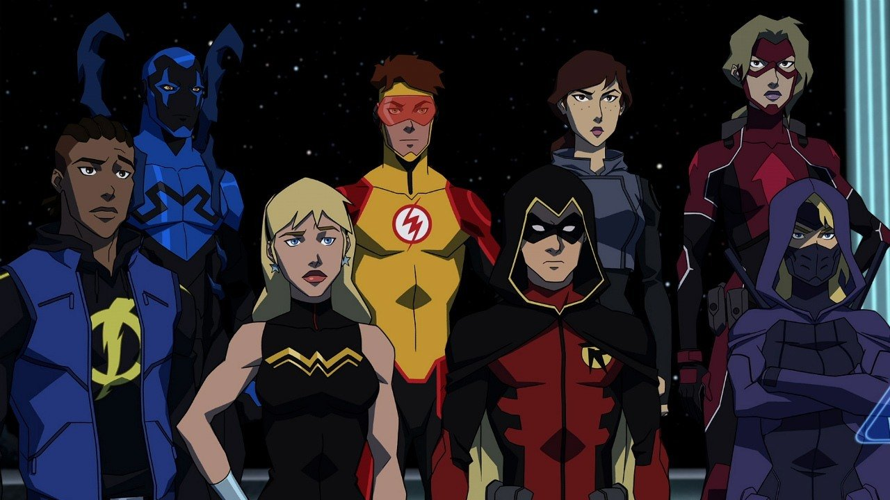 The Young Justice Team in the Watchtower, Image Courtesy: IMDB
