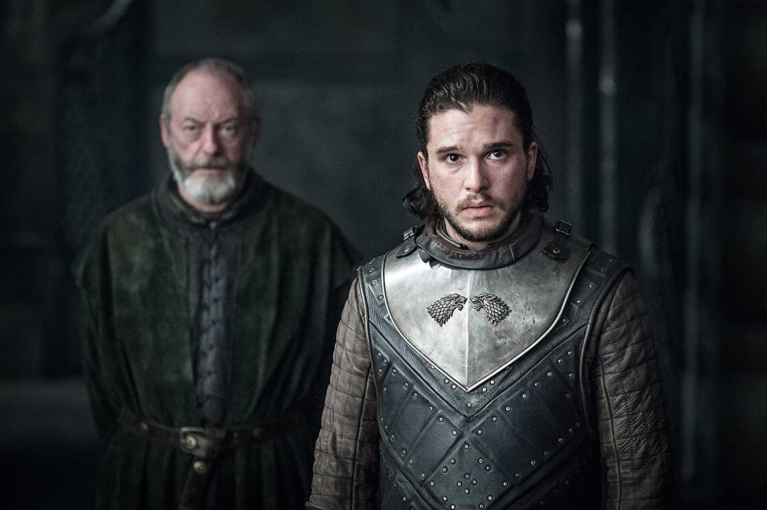 Jon Snow is easily the most suitable one to carry on Jon Arryn's name (IMDb)